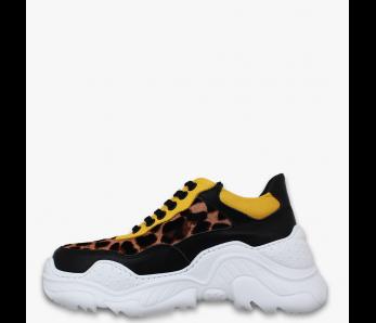 Sneakersy MO205-29 YELLOW LEO
