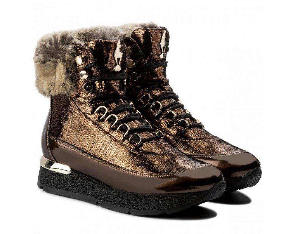 Členková obuv 4-100831-7000 BRONZE