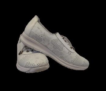 Dámska obuv AK015-410 WHITE