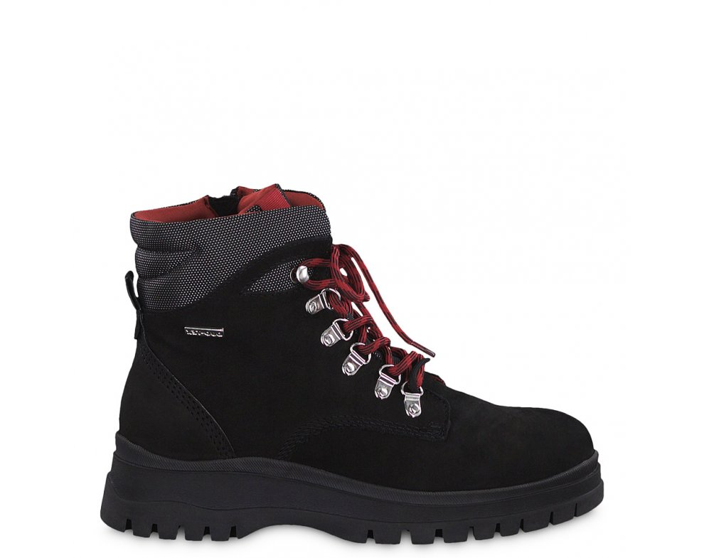 Workery 1-1-26979-33 033 BLACK/LIPSTICK