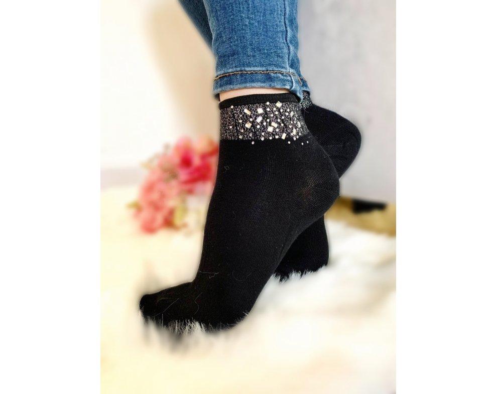 Ponožky STRASS k-968