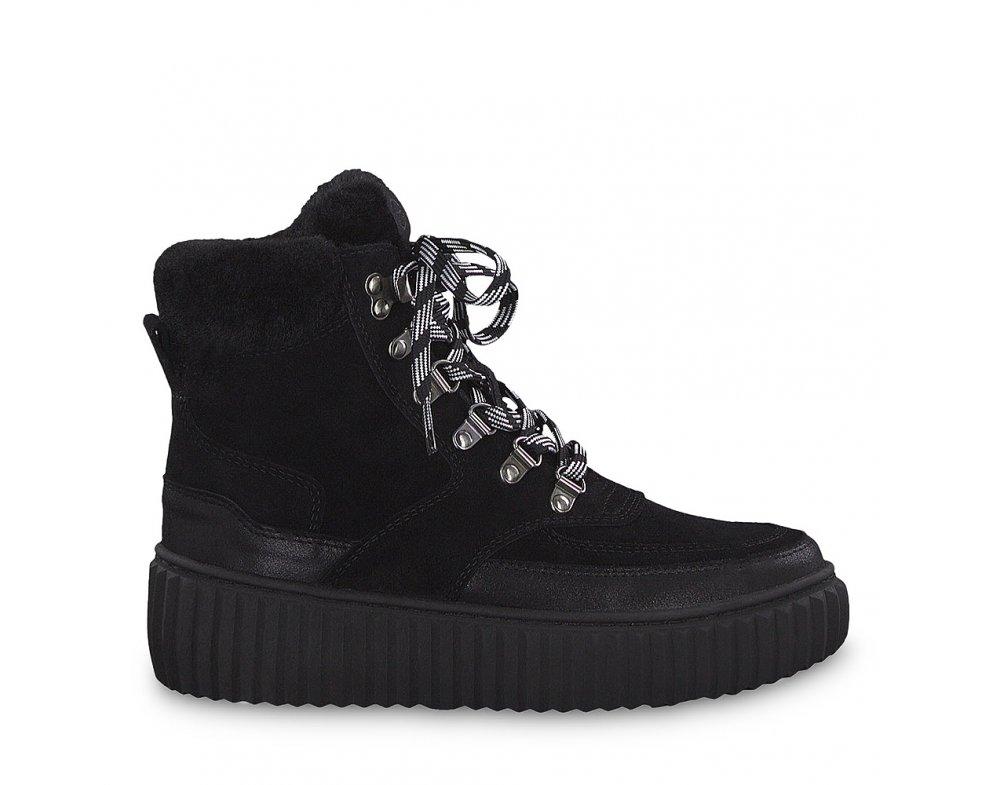 Zimná obuv 1-1-26260-23 098 BLACK COMB