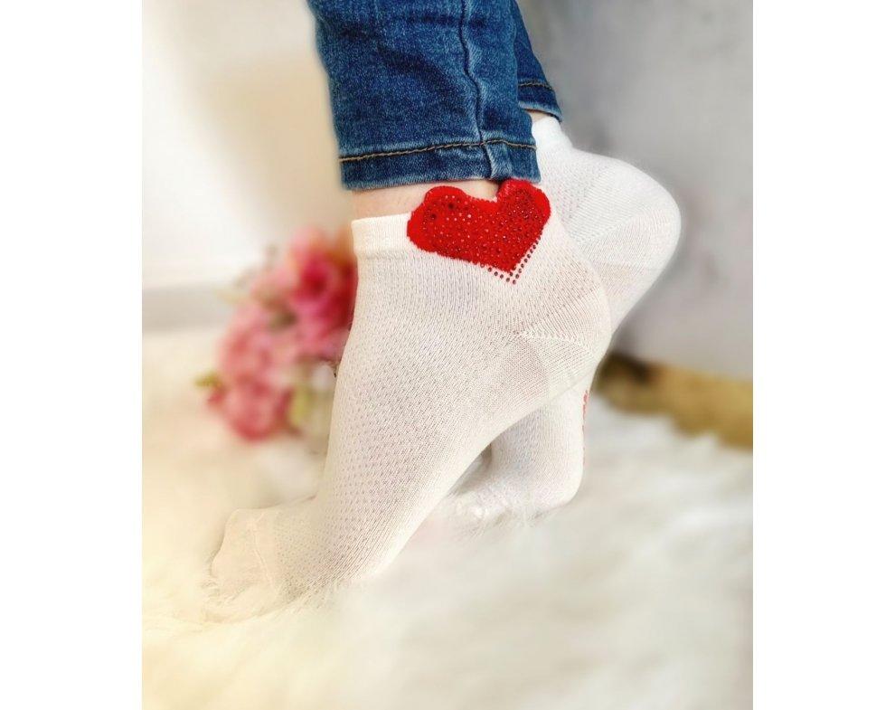 Ponožky krátke LOVE K-303