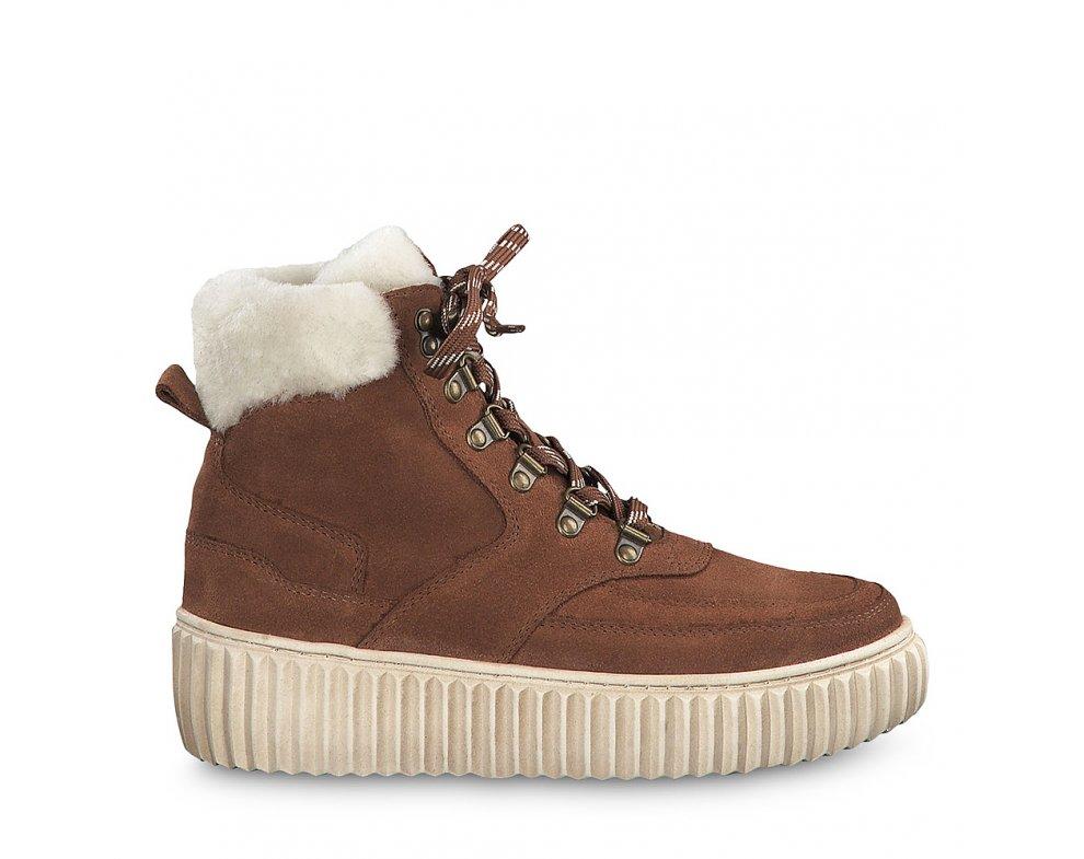 Zimná obuv 1-1-26260-23 370 COGNAC UNI