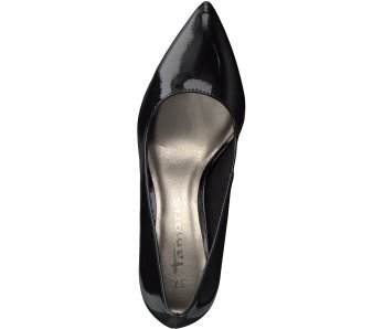 TAMARIS 1-1-22447-20 018 BLACK PATENT