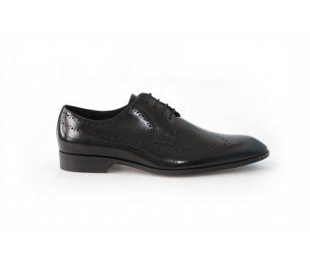 Pánska spoločenská obuv 6949 ČIERNA