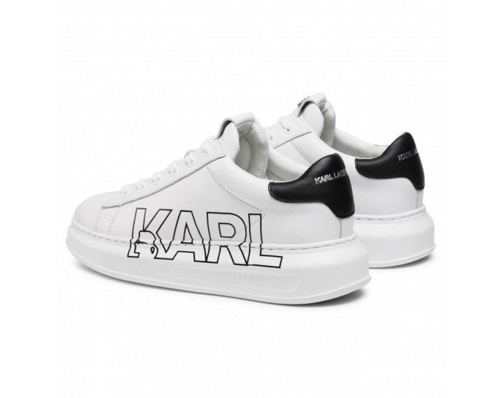 Pánske sneakersy KARL LAGERFELD KL52523 011 White Lthr