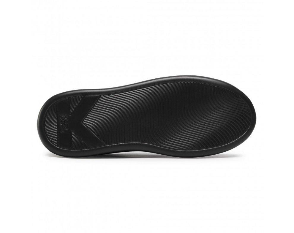 Pánske sneakersy KARL LAGERFELD KL52523 00X BLACK Lthr
