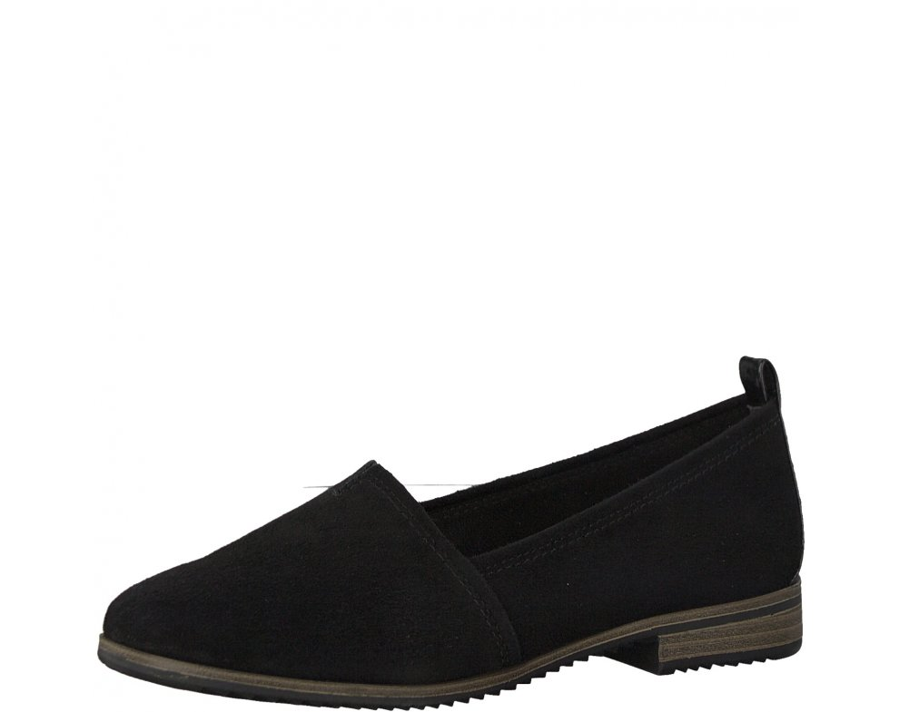 TAMARIS 1-1-24205-20 004 BLACK SUEDE